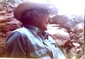 Ken at Arches NP. 1985