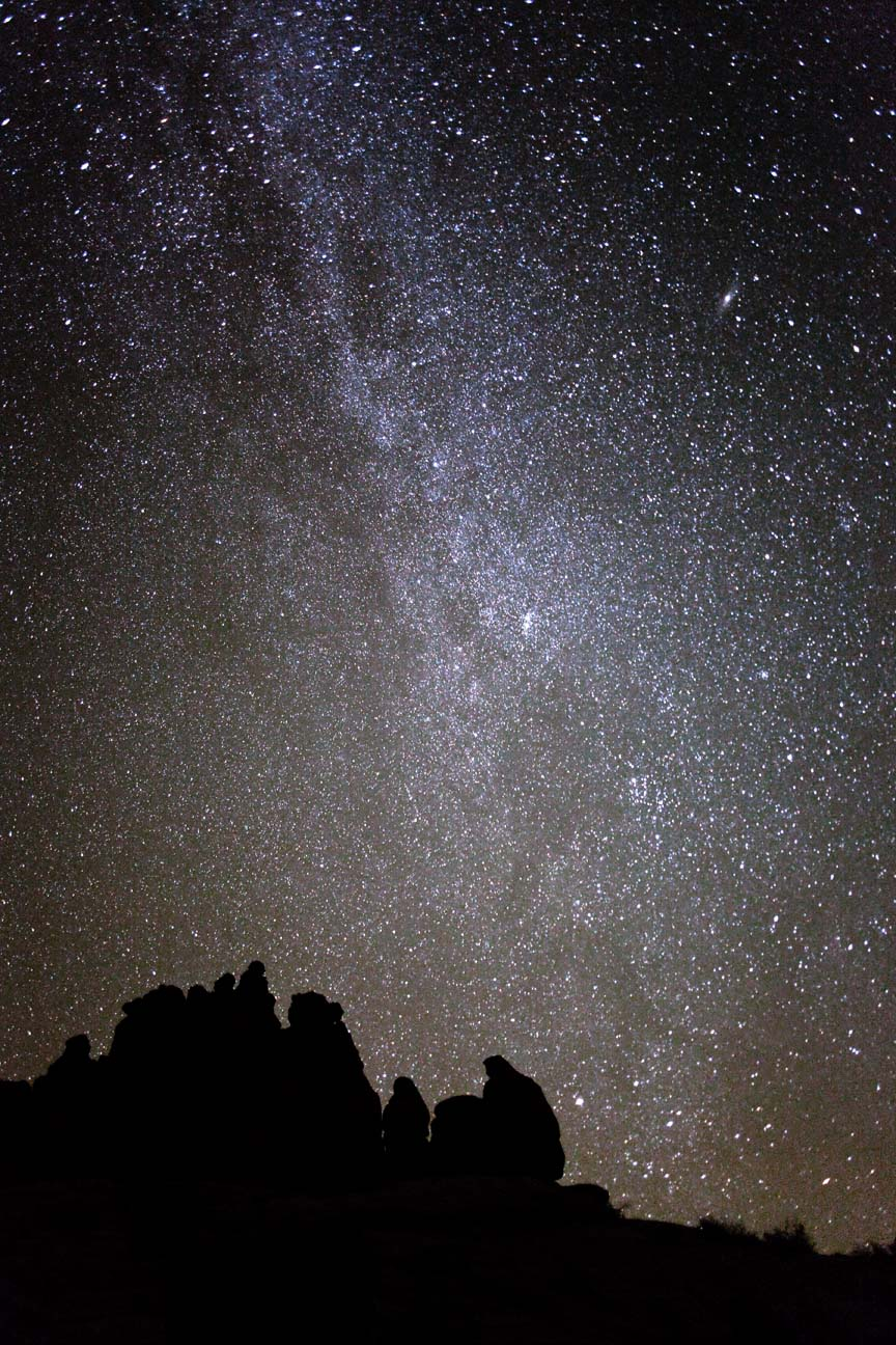 Portrait Of A Canyon Country Night Sky By Dan Norris