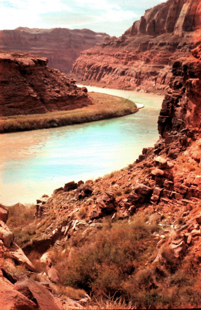Fas Built Floating Radiused Under Lit Sauna Benches: Last Float Down Glen Canyon:Sept/Oct 1962, Part 3…Headed