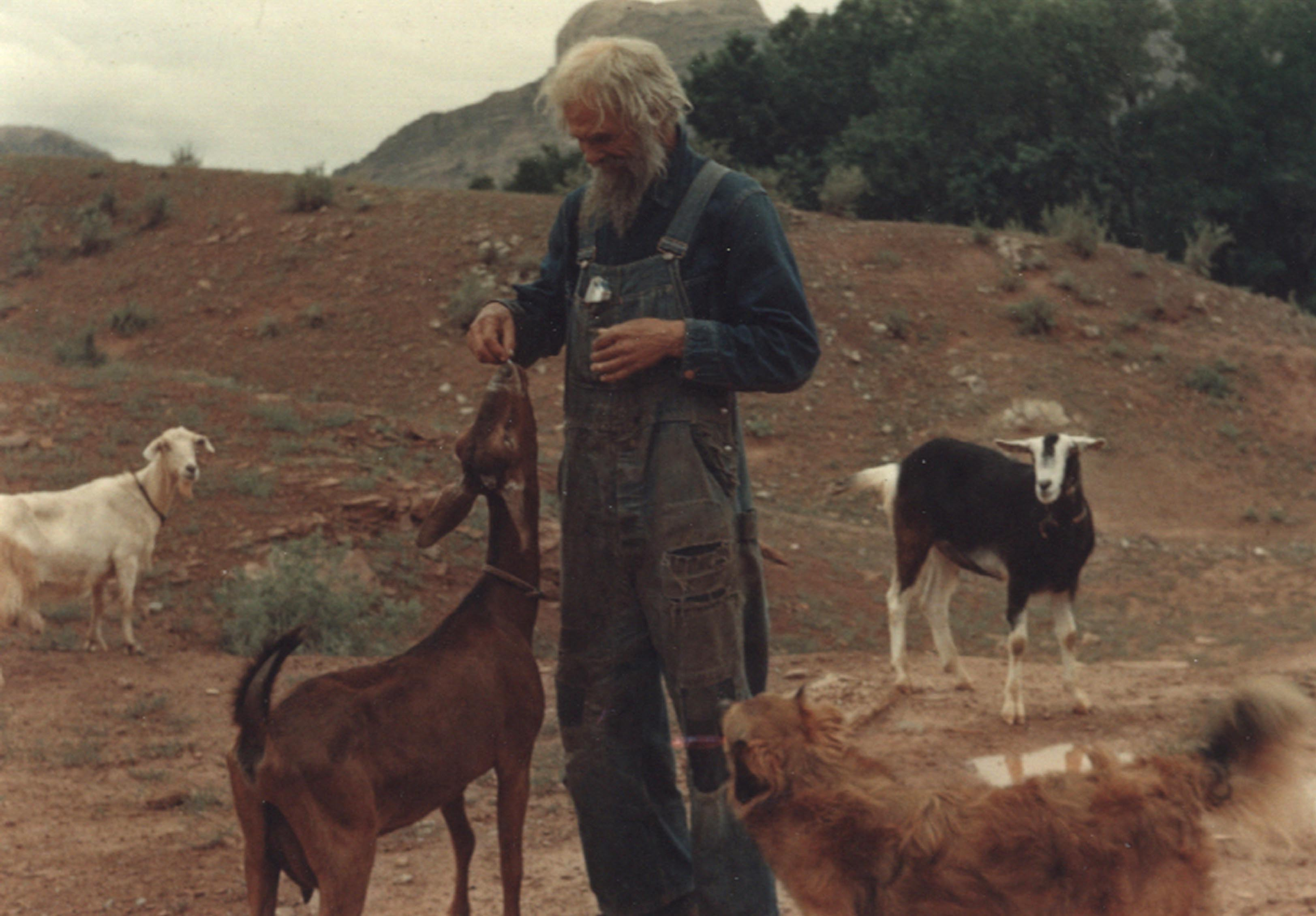 From The Zephyr Archives The Goat Man Photo By Herb