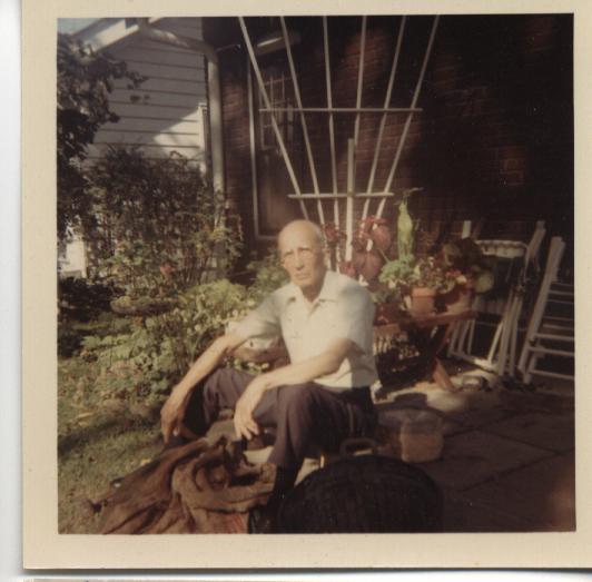 Frank Montfort in 1968.