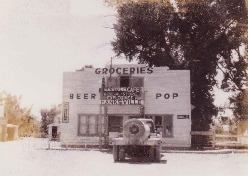 Hanksville general store.