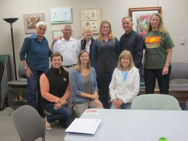 Desert Protective Council Board and Anza-Borrego Foundation staff meeting about Camp Borrego February 2014.