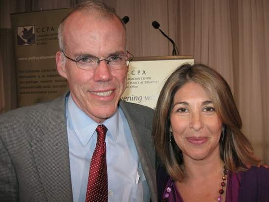 Klein and Bill McKibben.
