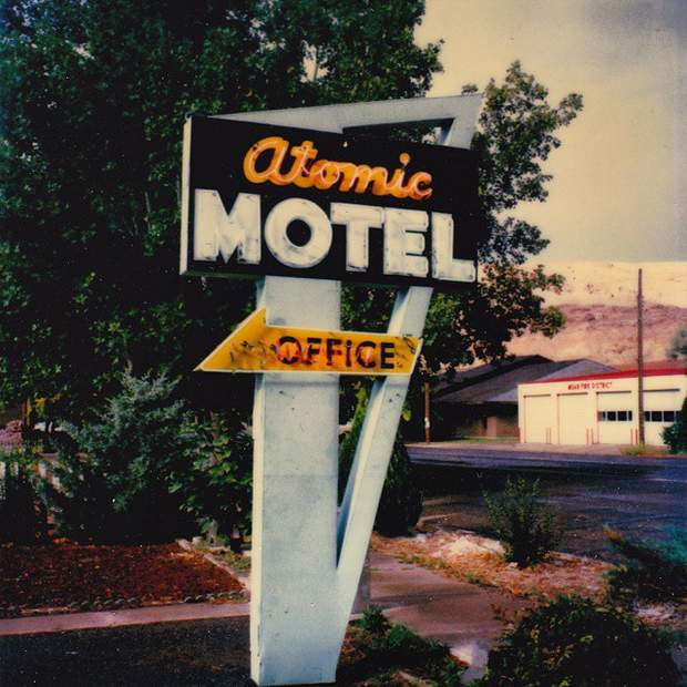 atomic motel. Moab 1989