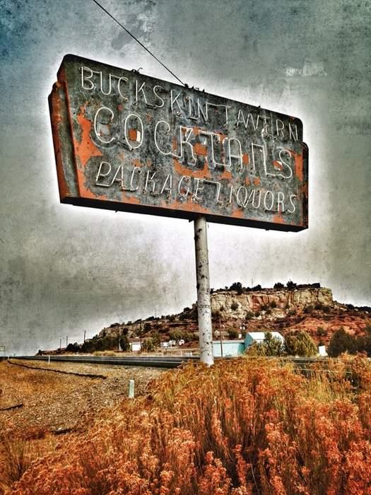 Buck Skin Tavern, Fredonia, AZ  near Kanab.