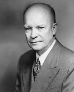 Dwight D Eisenhower.