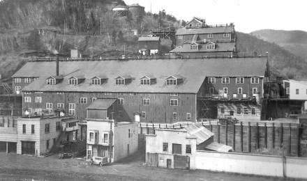 """After I left town, the derelict Deadwood Slime Plant, a key piece of the historical gold industry, was transformed into the """"Deadwood Mountain Grand"""" Resort."""