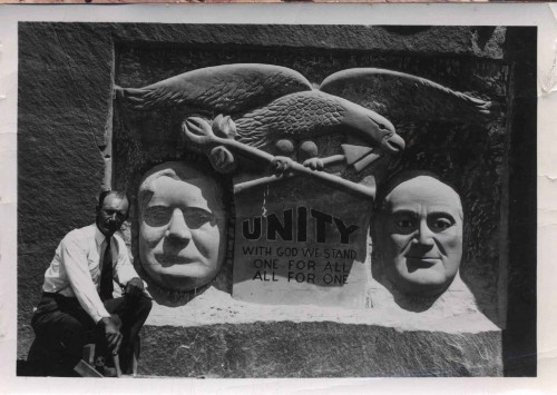 The Unity Monument.