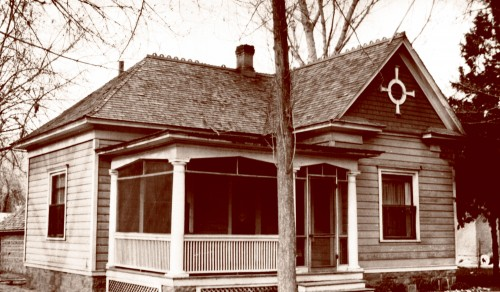 Kara's home in 1955.