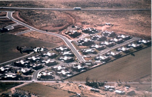 Aerial view of the Rim Village Development. Photo by Jim Stiles.