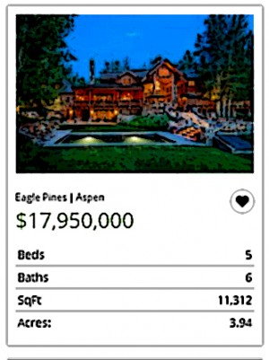 Aspen Real Estate. Quite a bargain.