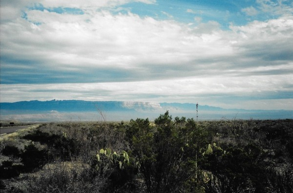 Sierra Del Carmen Mountains. Mexico.