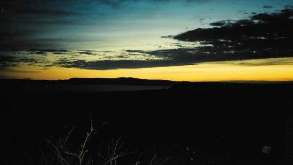 Dawn at Big Bend National Park.