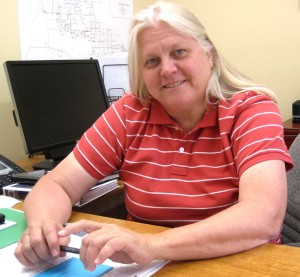 City Manager Rebecca Davidson.