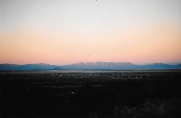 Organ Mountains.