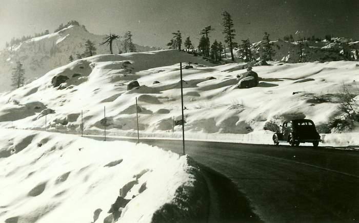 Highway to Mt Rose Summit.