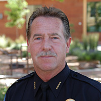 Police Chief Mike Navarre.