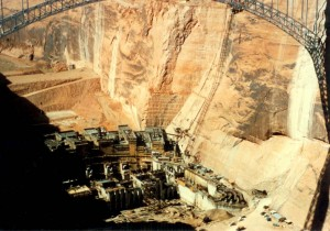 Building Glen Canyon Dam