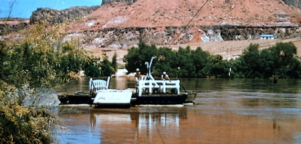 The Hite Ferry.