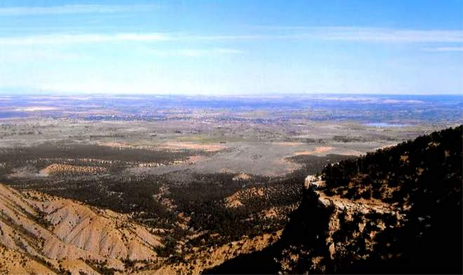 Great Sage Plain from Mesa Verde