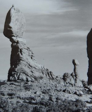 Balanced Rock. Arches National Park.