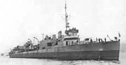 The USS Greer.