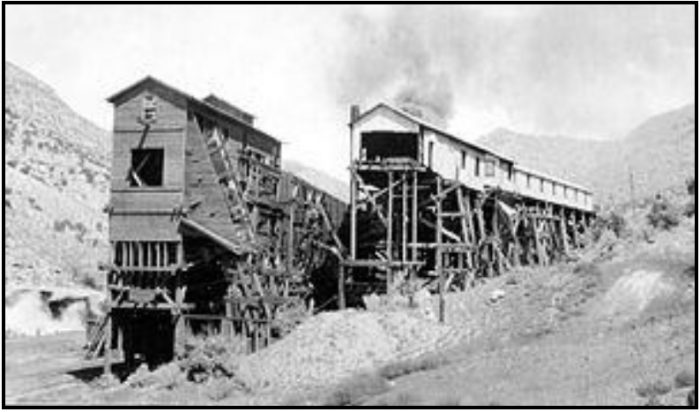 Sego Tipple and screening plant of Chesterfield Coal Company