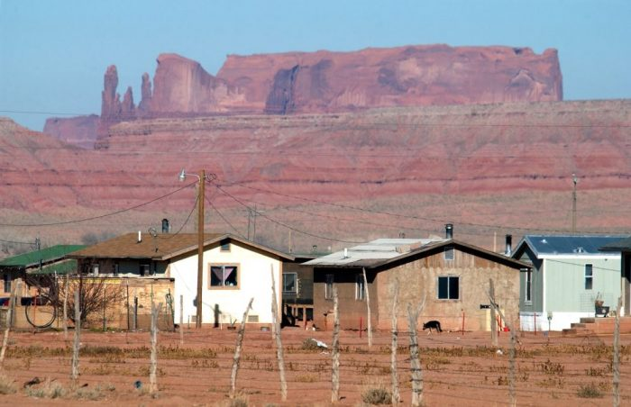 Housing on the Navajo Reservation