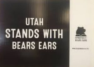 Utah Stands With Bears Ears Yard Sign