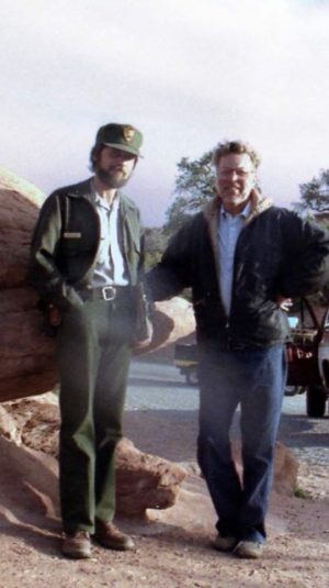 Doug and me. 1984