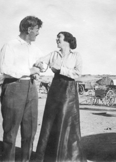 John and Louisa Wetherill were happy at their new home in the desert