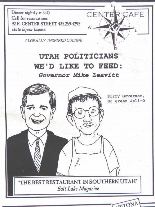 Ad Utah Politicians We'd Like to Feed