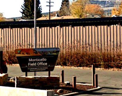 BLM Monticello Utah