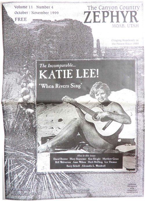 Cover Oct Nov 1999 Katie Lee