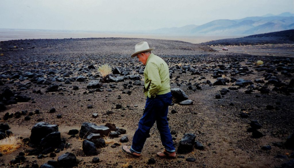 Reuben at Death Valley. Early 1990s...