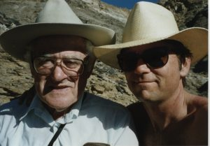 Reuben and me at Death Valley. 1995