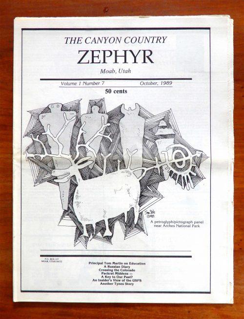 Zephyr Cover October 1989