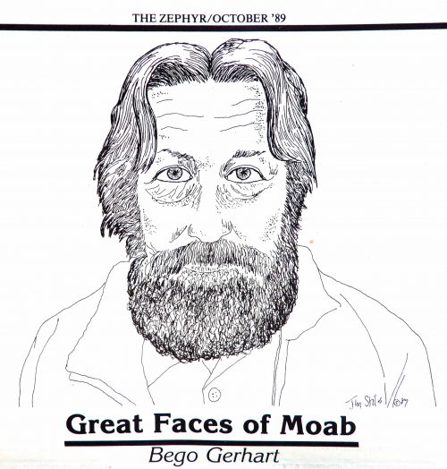 Great Faces of Moab Bego Gerhart