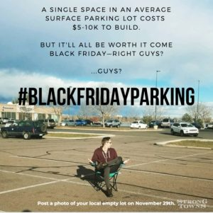 Black Friday Parking campaign
