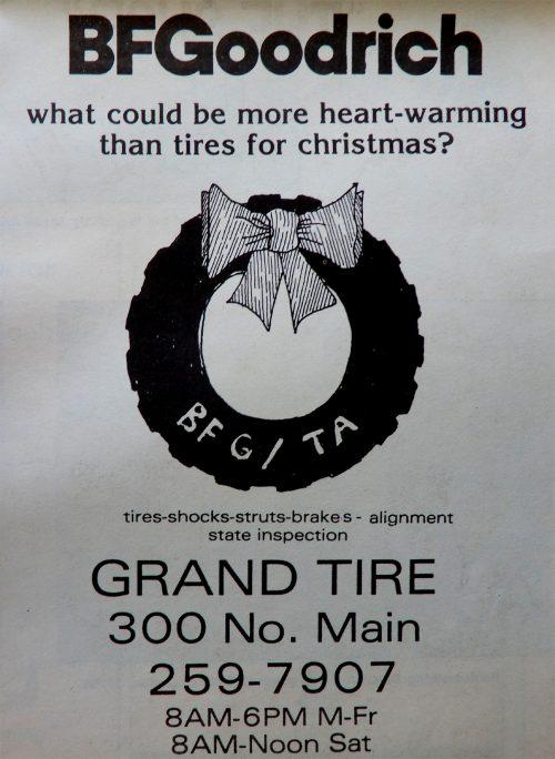 Grand Tire Ad