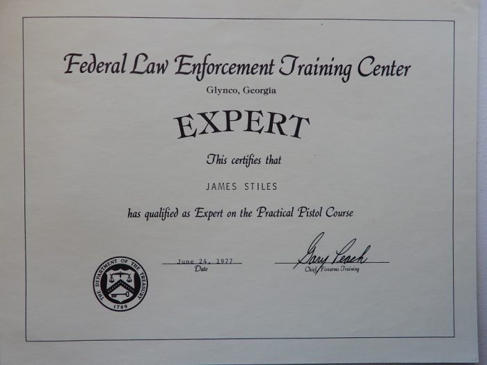 Firearms Expert Certification