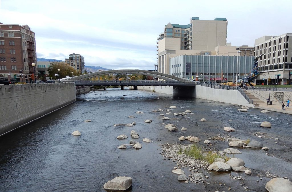 Modern View of Truckee River. Photo by Jim Stiles.