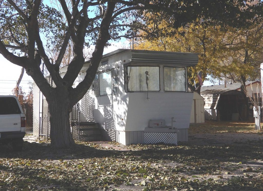 Herb's Trailer in 2019. Photo by Jim Stiles