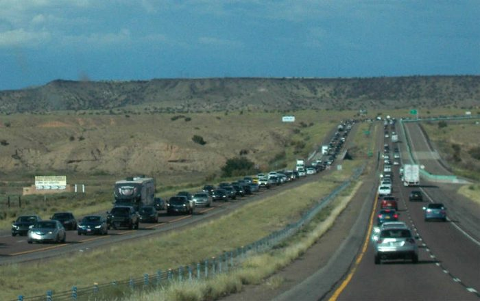 NM Traffic. photo by Jim Stiles