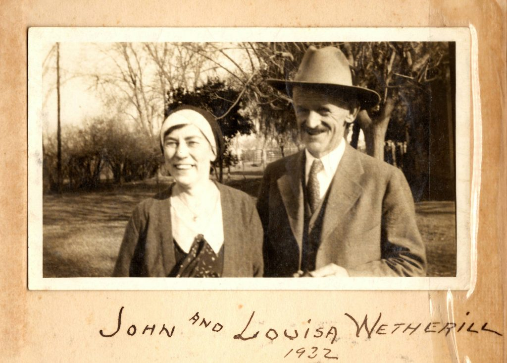 John and Louisa Wetherill