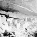 An early Wetherill photograph of Cliff Palace