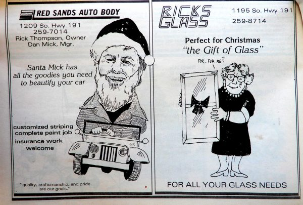 Ricks Glass Ad