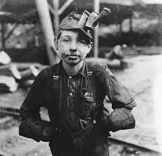 10 year old coal miner