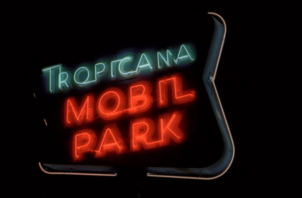 Tropicana Mobil Park. Photo by Paul Vlachos